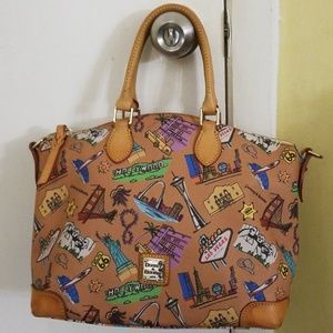 Dooney and Bourke Americana Collection pocketbook